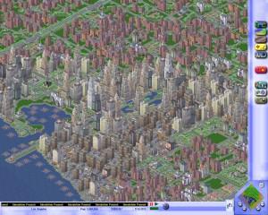 simcity3000 view
