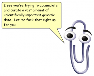Clippy bastard
