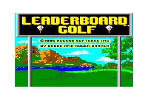C64 Leaderboard Golf 01