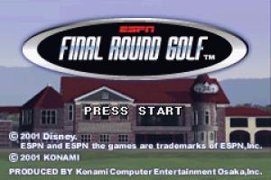 ESPN Final Round Golf 01