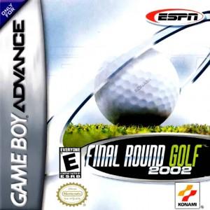 ESPN Final Round Golf box