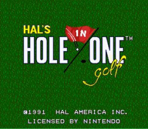 Hole in One Golf 01