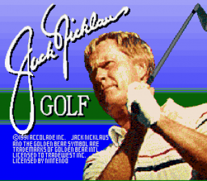 Jack Nicklaus Golf SNES 01