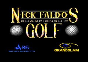 Nick Faldo's Championship Golf 01