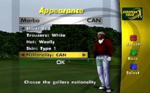PGA European Tour N64 05