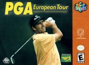 PGA European Tour N64 box