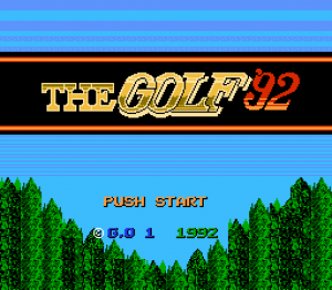 The Golf '92 01