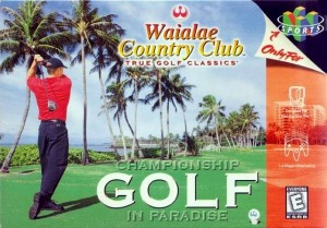 Waialae Country Club N64 box