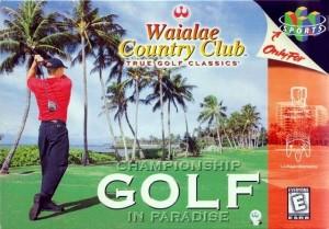 Waialae Country Club N64 box