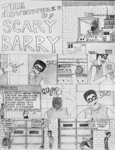 The Adventures of Scary Barry 1