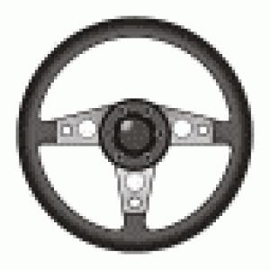 8-bit Steering Wheel