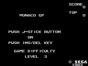Monaco GP 01