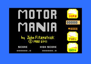 Motor Mania 01