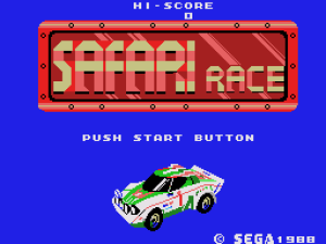 Safari Race 01