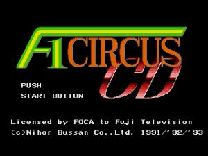 F1 Circus CD 01