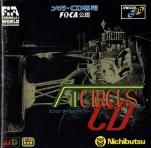 F1 Circus CD case