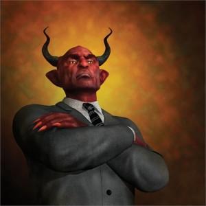 Satan in a suit