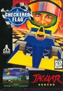 Checkered FLag box