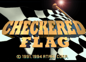 Checkered Flag 01