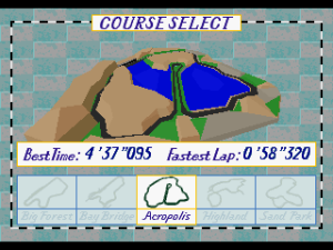 Virtua Racing Deluxe 10