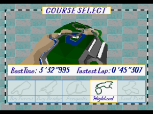 Virtua Racing Deluxe 11