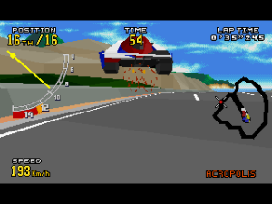 Virtua Racing Deluxe 24