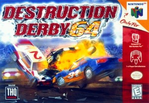 Destruction Derby 64 box