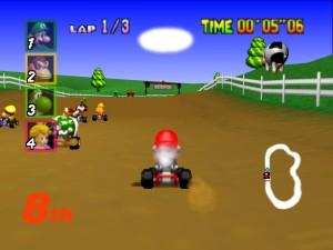 Mario Kart 64 21
