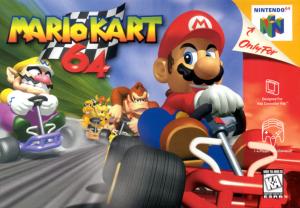 MarioKart 64 box