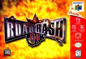 Road Rash 64 box