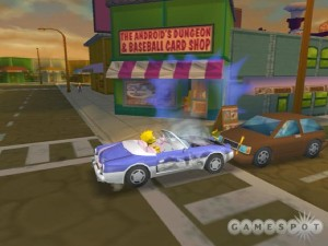 Simpsons Hit & Run 11