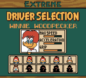 Woody Woodpecker Racing 07