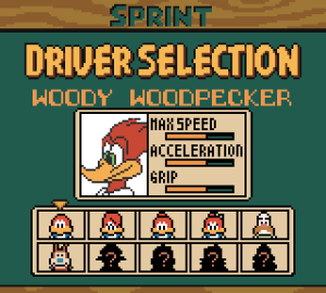 Woody Woodpecker Racing 66