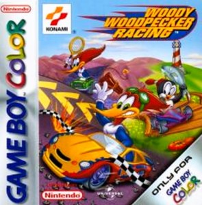 Woody Woodpecker Racing box