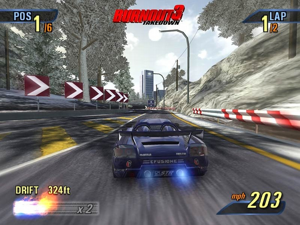 Burnout 1 ps2 iso