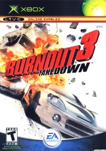 Burnout 3 Takedown case