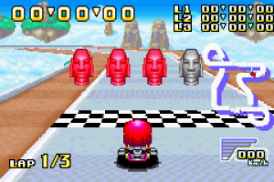 Konami Krazy Racers 15