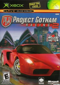 Project Gotham Racing 2 case