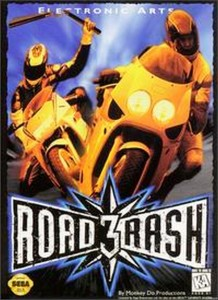 Road Rash 3 box
