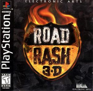 Road Rash 3D Cover