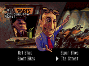 Road Rash (Sega CD) 12
