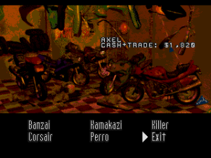 Road Rash (Sega CD) 13