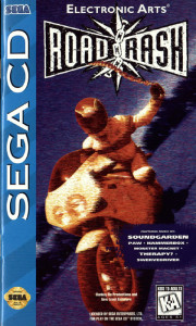 Road Rash (Sega CD) cover