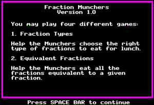 Fraction Munchers 04