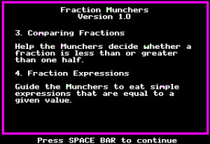 Fraction Munchers 05