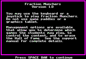 Fraction Munchers 06