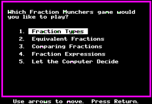 Fraction Munchers 09