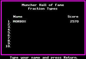 Fraction Munchers 21