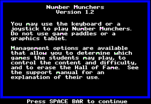 Number Munchers 07