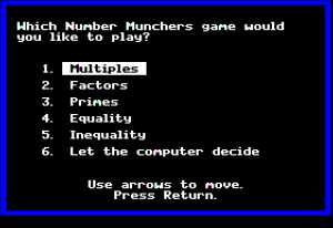 Number Munchers 09